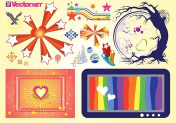 Stock Vector Pack - vector gratuit #159797