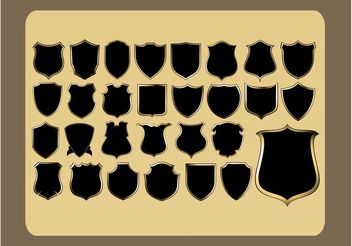 Badges Pack - vector gratuit #160187
