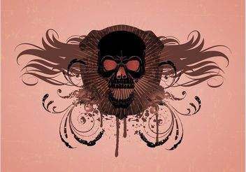 Skull Vector Graphics - vector gratuit #160517