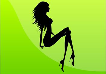 Sexy Girl Image - Free vector #160757