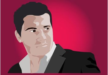 Man With Suit - vector gratuit #160817