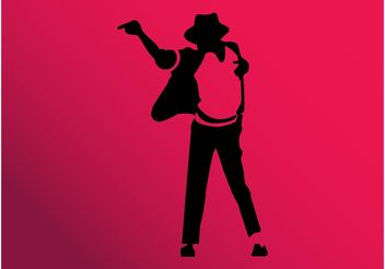 King Of Pop - vector gratuit #160977