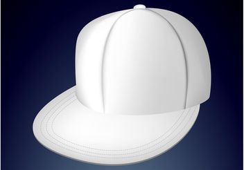 Fitted Cap - Free vector #161137