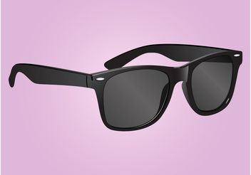 Ray Ban Glasses - бесплатный vector #161197