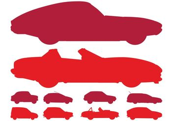 Car Silhouettes Pack - Free vector #161327