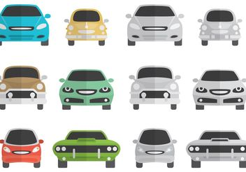 Car Silhouette Front - Free vector #161397