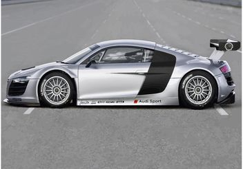 Audi R8 GT3 - Free vector #161457