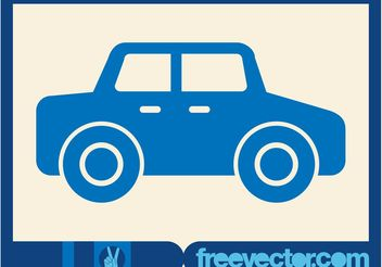 Car Icon Vector - Free vector #161497