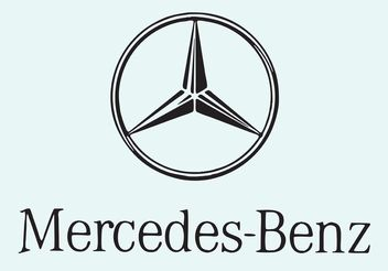 Mercedes Benz - Free vector #161617