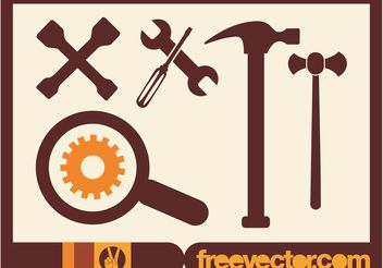 Car Tools - vector gratuit #161887