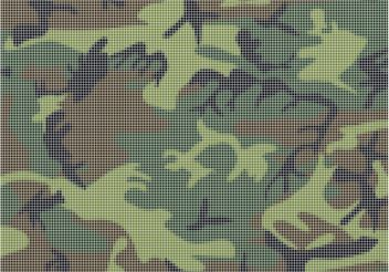 Camouflage Grid - Free vector #162447