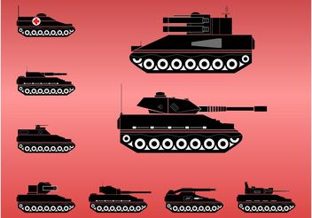 Tanks - Free vector #162457