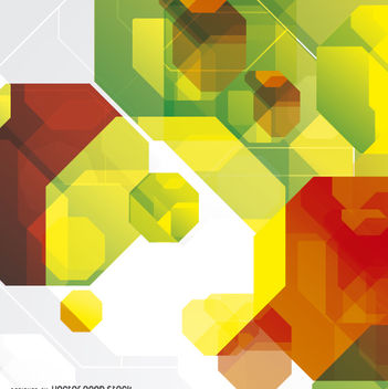 Abstract octagonal background - Free vector #162647