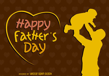 Happy father's day - vector #162767 gratis