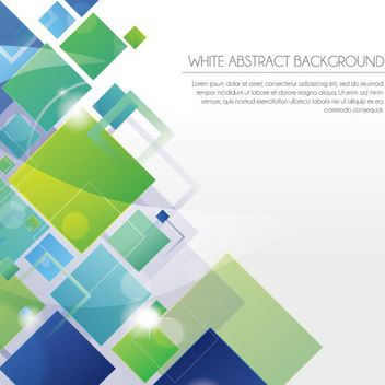 Abstract Squares Business Background - vector gratuit #162817