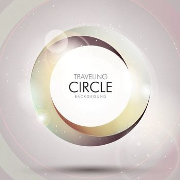 Twisting Vortex Circle Background - Free vector #163387