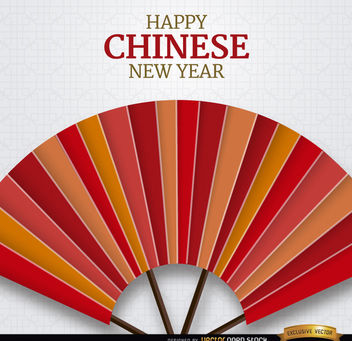 Happy Chinese New Year background - vector gratuit #163977