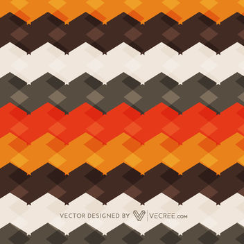 Geometric Abstract Colorful Retro Cubic Striped Texture - vector gratuit #164117