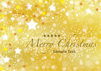 Shiny Decorative Textured Xmas Background - Free vector #164557