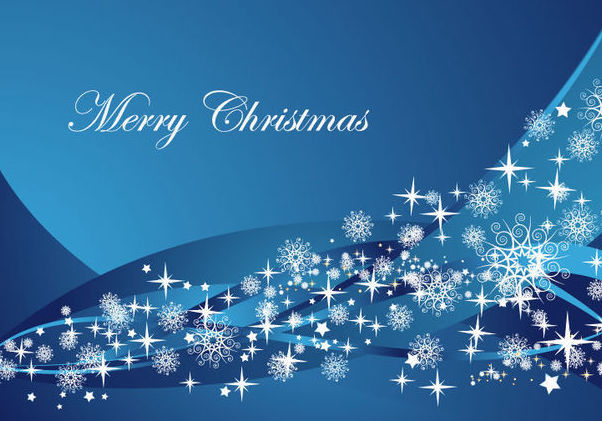 Fondo De Pantalla Abstracto Bolas Azules: Descargar Vector Fondo De Navidad Abstracto Ondas Azules