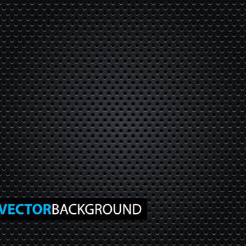 Micro Dotted Pattern on Black Background - Free vector #165217
