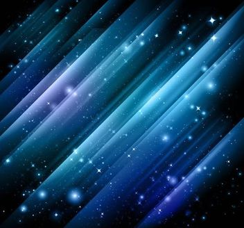 Abstract Sparkling Cosmos Background - Kostenloses vector #167347