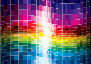 Colorful Spectrum Abstract Background - vector gratuit #167397