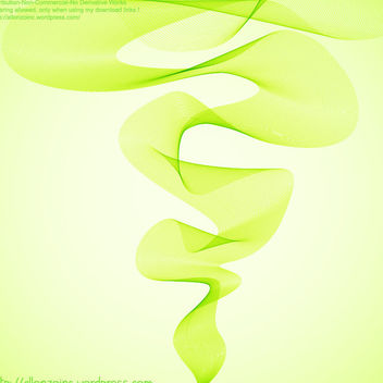 Abstract Background with Wavy Twirls - vector #167467 gratis