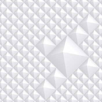 Tiny Pyramid Style Plastic Background - Free vector #167607