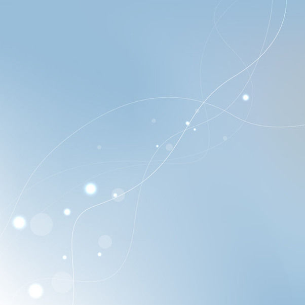 Abstract Blue Background with Shiny Lens - Free vector #167637