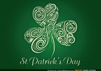 St. Patrick's Wallpaper - vector gratuit #167657