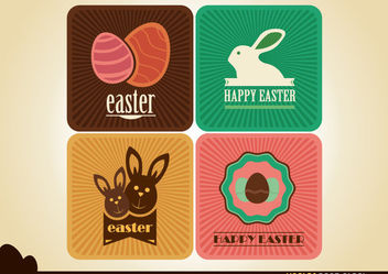 Easter Card Designs - Kostenloses vector #167667