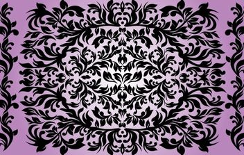 Ornamental Floral Background - vector #168037 gratis