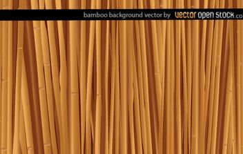 Bamboo background - vector gratuit #168337