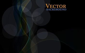 Free Dark Abstract Vector Background - Free vector #168407