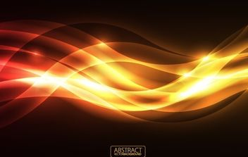 Orange Glare Vector Background - vector #168427 gratis