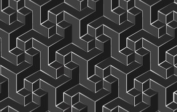 Cubic Background - vector #168477 gratis