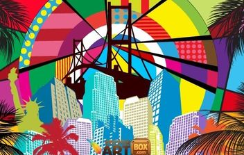 Free Pop Art Background - vector #168497 gratis