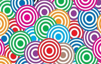 Vivid abstract patterns - vector gratuit #168507