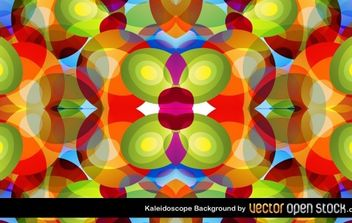 Kaleidoscope Background - vector gratuit #168537