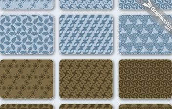 Free Vector Patterns Set 03 - Kostenloses vector #168547