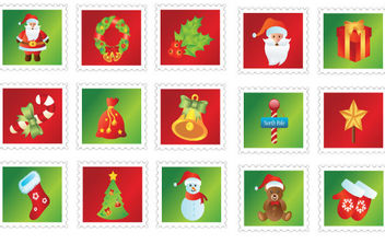 Free Christmas Icons - Kostenloses vector #168617