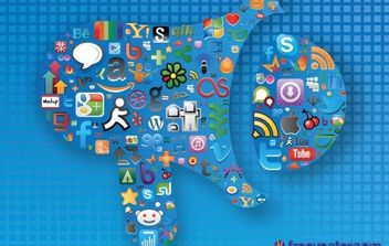 Social Media Graphics - vector gratuit #168697