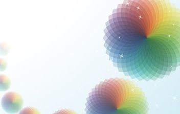 Abstract Vector Background With Circular Patterns - vector #169017 gratis