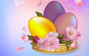 Easter Background 1 - Kostenloses vector #169037