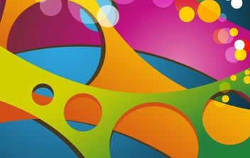 Abstract Colored Vector Background - бесплатный vector #169057