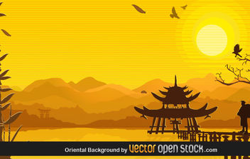 Oriental Background - vector gratuit #169227