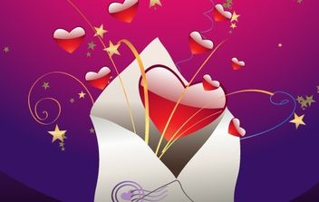Valentine Vector Artwork 4 - vector gratuit #169317