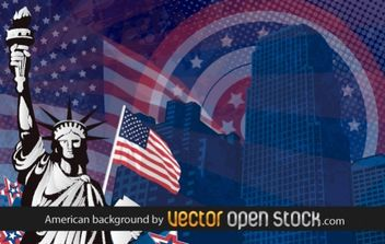 American background - vector gratuit #169427