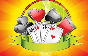 Gambling illustration - Free vector #169707